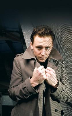 Tom Hiddleston in Soho, London, Britain - 14 Feb 2011