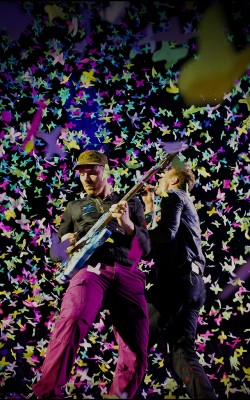 Coldplay host Under 1 Roof, a benefit concert in support of the charity Kids Company at the O2 Arena, London