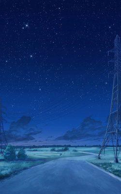 aw15-arseniy-chebynkin-night-sky-star-blue-illustration-art-anime