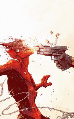 aw50-punisher-spiderman-tonton-revolver-illustration-art