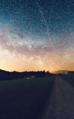 nn93-starry-sky-nature-sunset-mountain-road