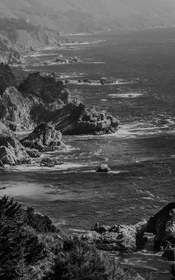 my16-sea-ocean-rock-nature-mountain-summer-dark-bw