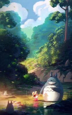 av34-totoro-anime-liang-xing-illustration-art-blue