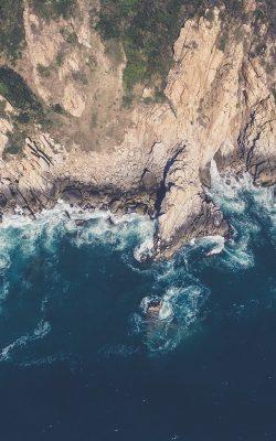 nv85-island-sea-blue-mountain-wave-nature