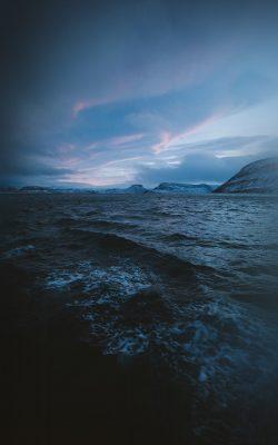 ny03-night-sea-wave-sunset-nature