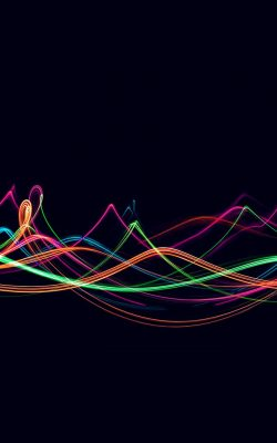 vn49-abstract-curve-lines-red-rainbow-pattern