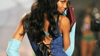 Victoria's Secret model Chanel Iman dur