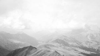 nd78-mountain-nature-sky-cloud-wood-bw-white