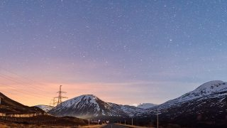 no73-sky-star-lovely-road-street-mountain-winter-nature