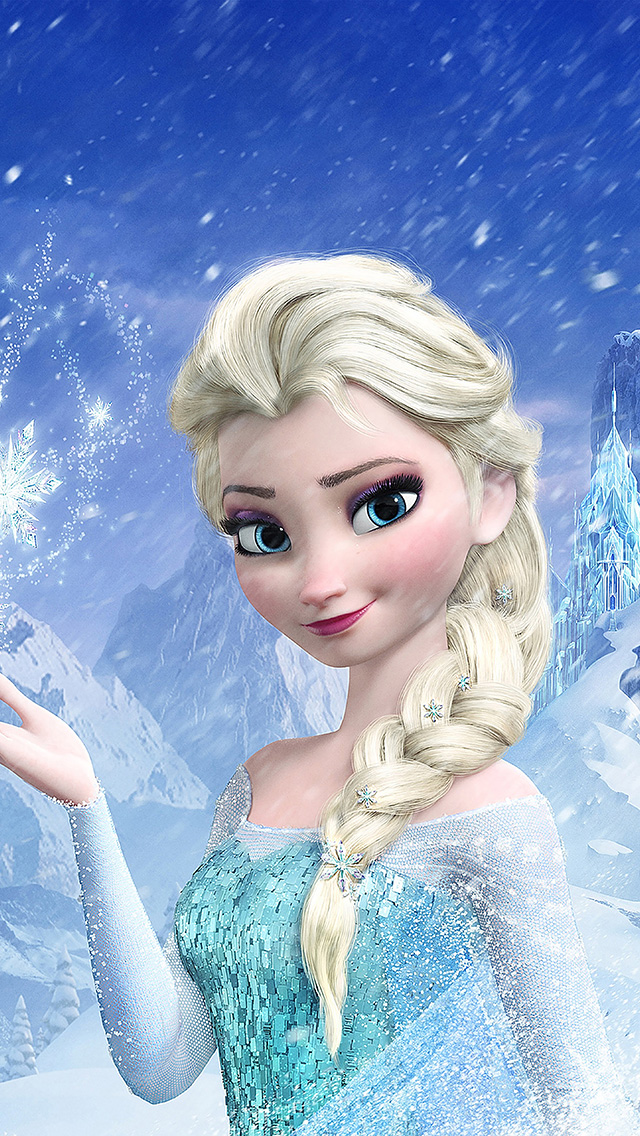 freeios8.com-iphone-4-5-6-ipad-ios8-aa20-elsa-frozen-queen-illus-filmt-disney-art