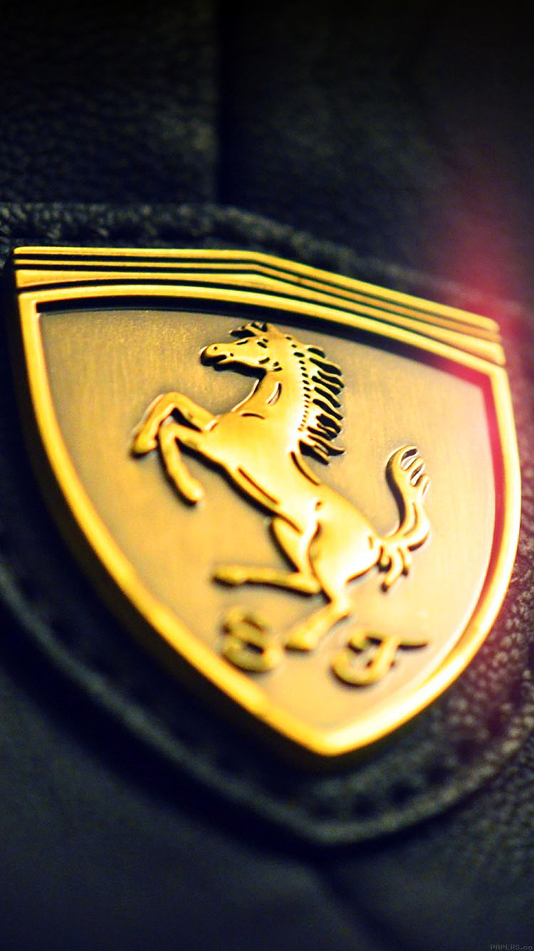 iPhone6papers.co-Apple-iPhone-6-iphone6-plus-wallpaper-aa22-gold-ferrari-logo-art