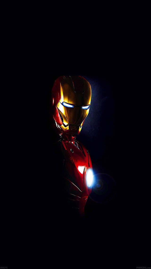 freeios8.com-iphone-4-5-6-ipad-ios8-aa25-ironman-in-dark-film-art