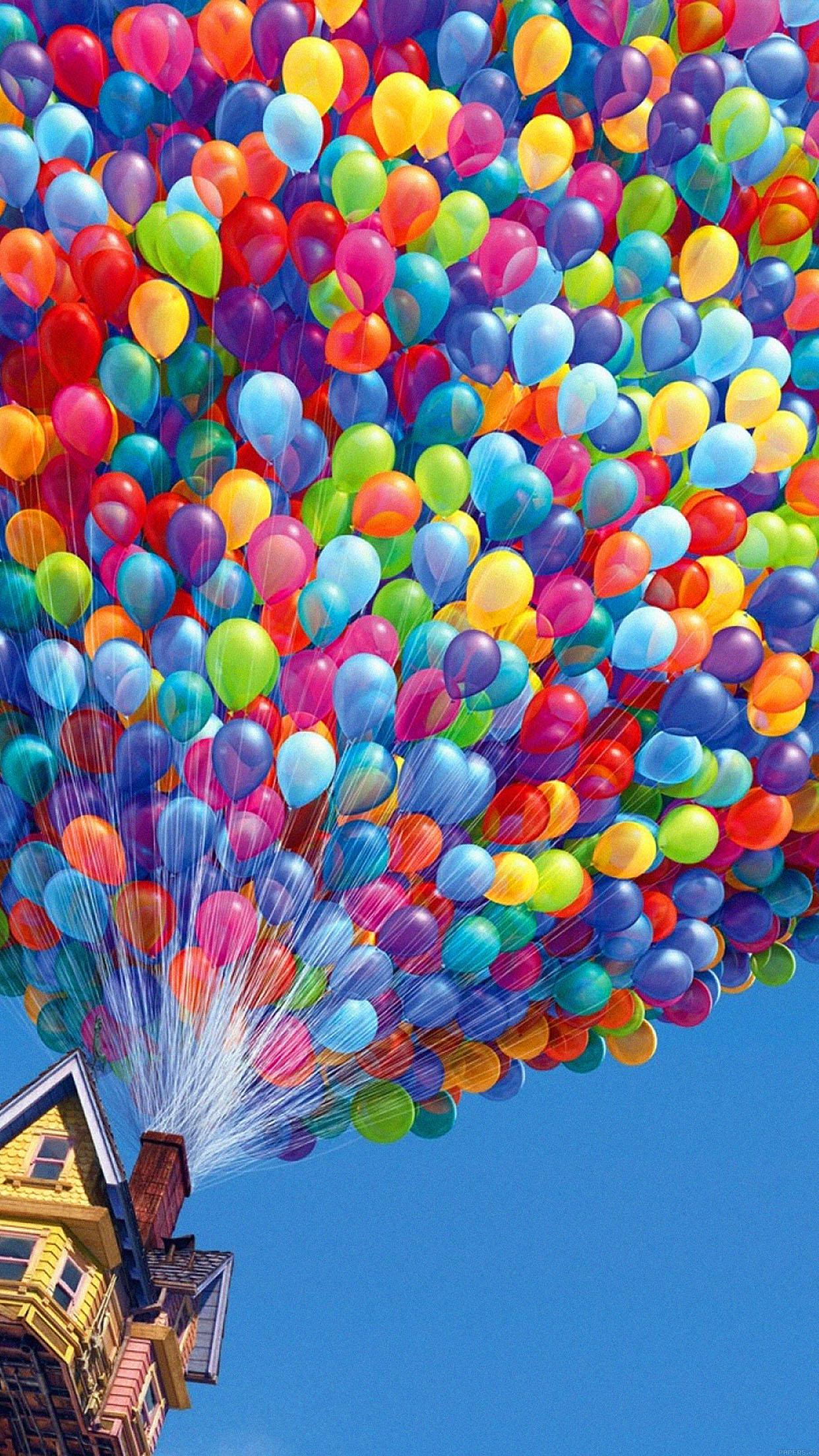 Iphone6papers Aa28 Up Balloons Disney Illust Art