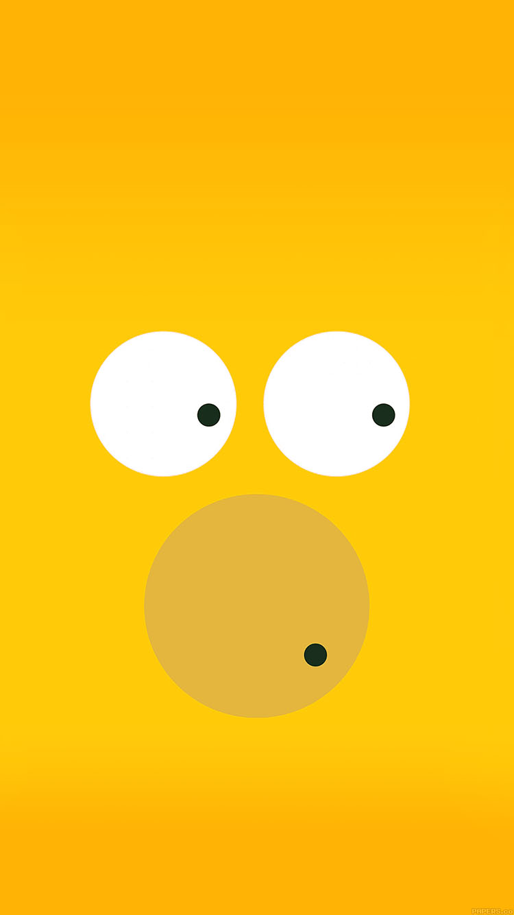 iPhone6papers.co-Apple-iPhone-6-iphone6-plus-wallpaper-aa30-6-circles-homer-simpson-illust-minimal-art