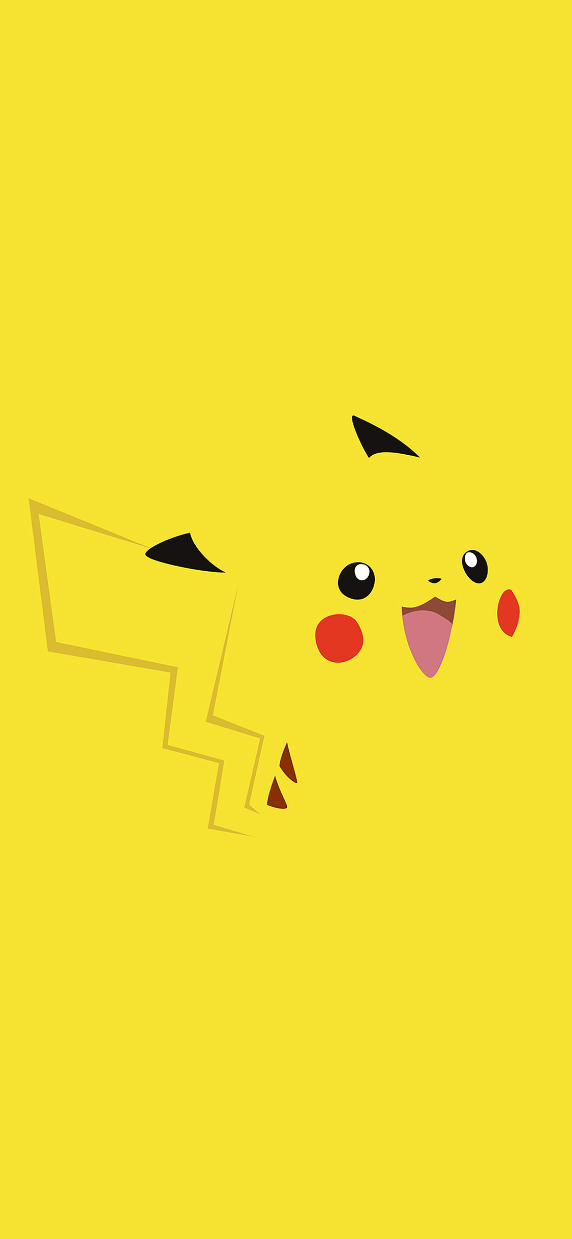iPhoneXpapers.com-Apple-iPhone-wallpaper-aa35-pika-pikachu-illust-minimal-art