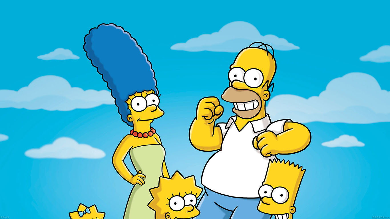 iPapers.co-Apple-iPhone-iPad-Macbook-iMac-wallpaper-aa43-simpsons-smiling-illust-art
