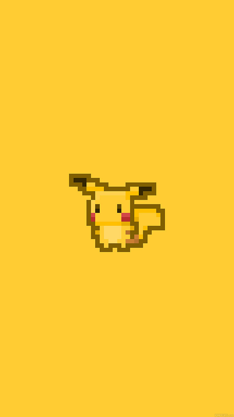 iPhonepapers.com-Apple-iPhone8-wallpaper-aa44-pixel-pikachu-illust-art