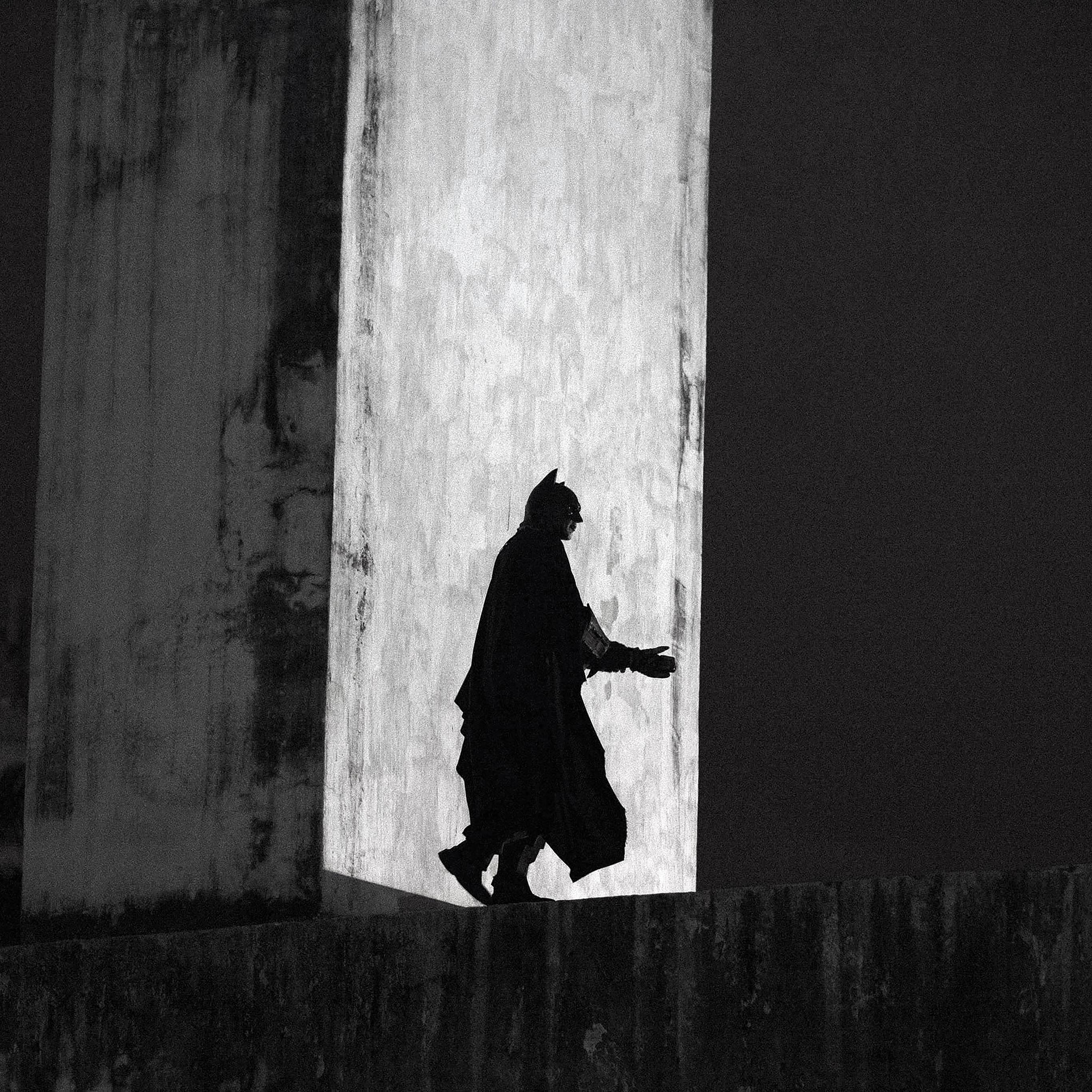 Kinzoku Bat Hd Wallpaper: Aa48-batman-street-art-dark-hero
