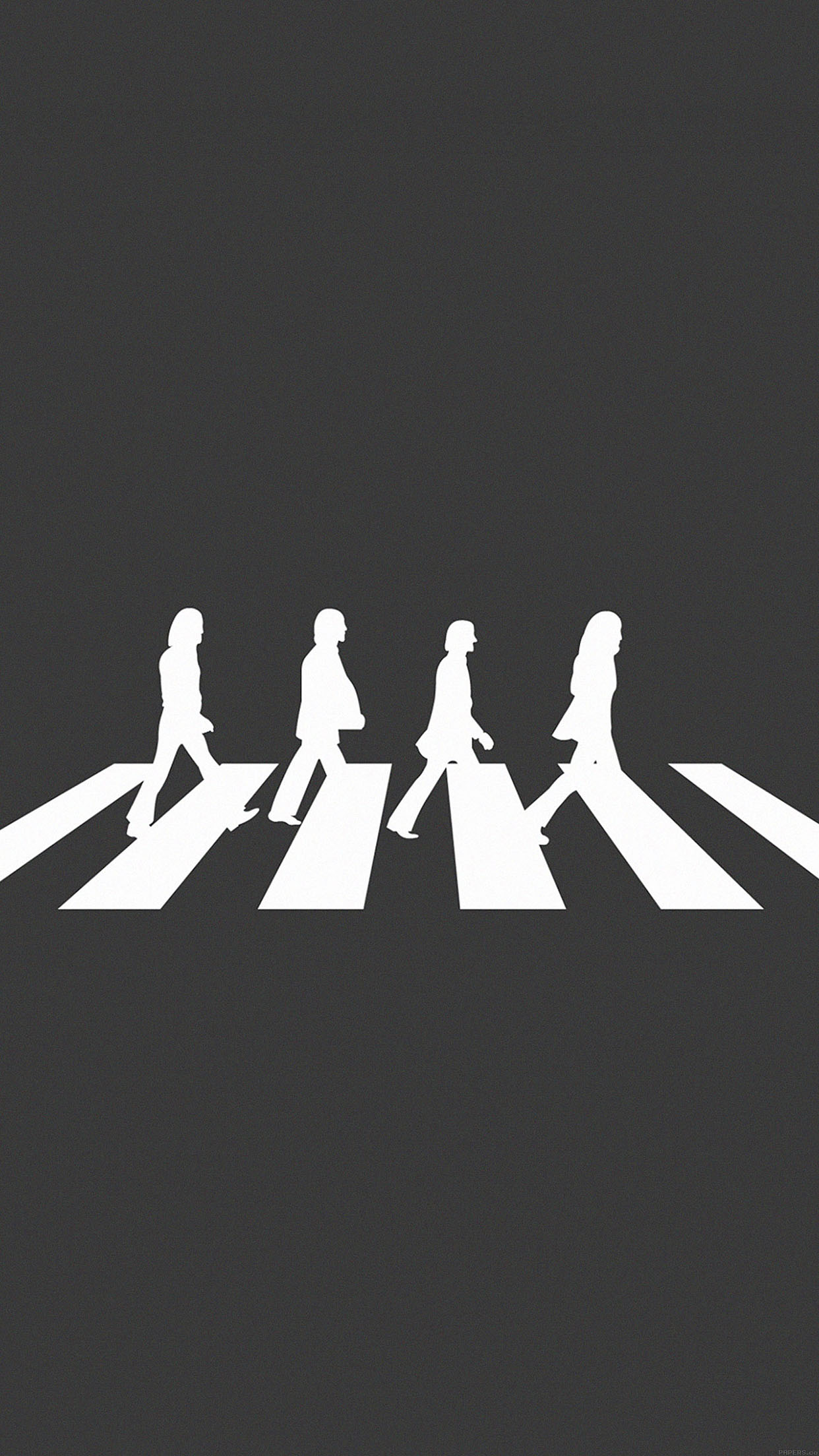 Iphone6papers Aa49 Beatles Abbey Road Music Art