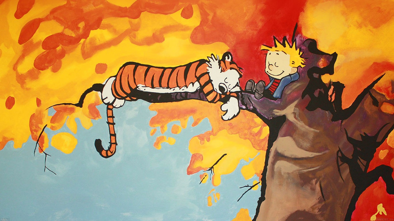iPapers.co-Apple-iPhone-iPad-Macbook-iMac-wallpaper-aa52-calvin-and-hobbes-tree-nap-illust-art