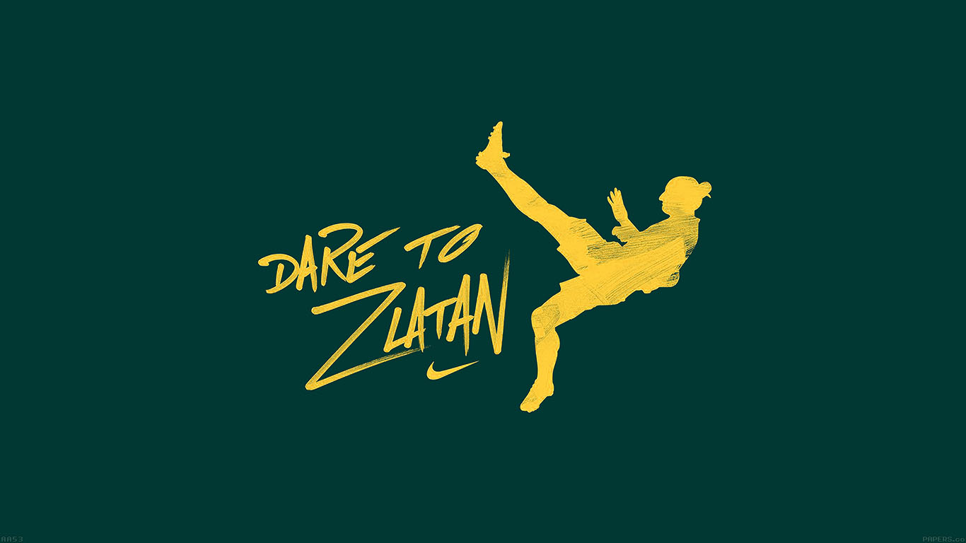 iPapers.co-Apple-iPhone-iPad-Macbook-iMac-wallpaper-aa53-dare-to-zlatan-green-sports-art