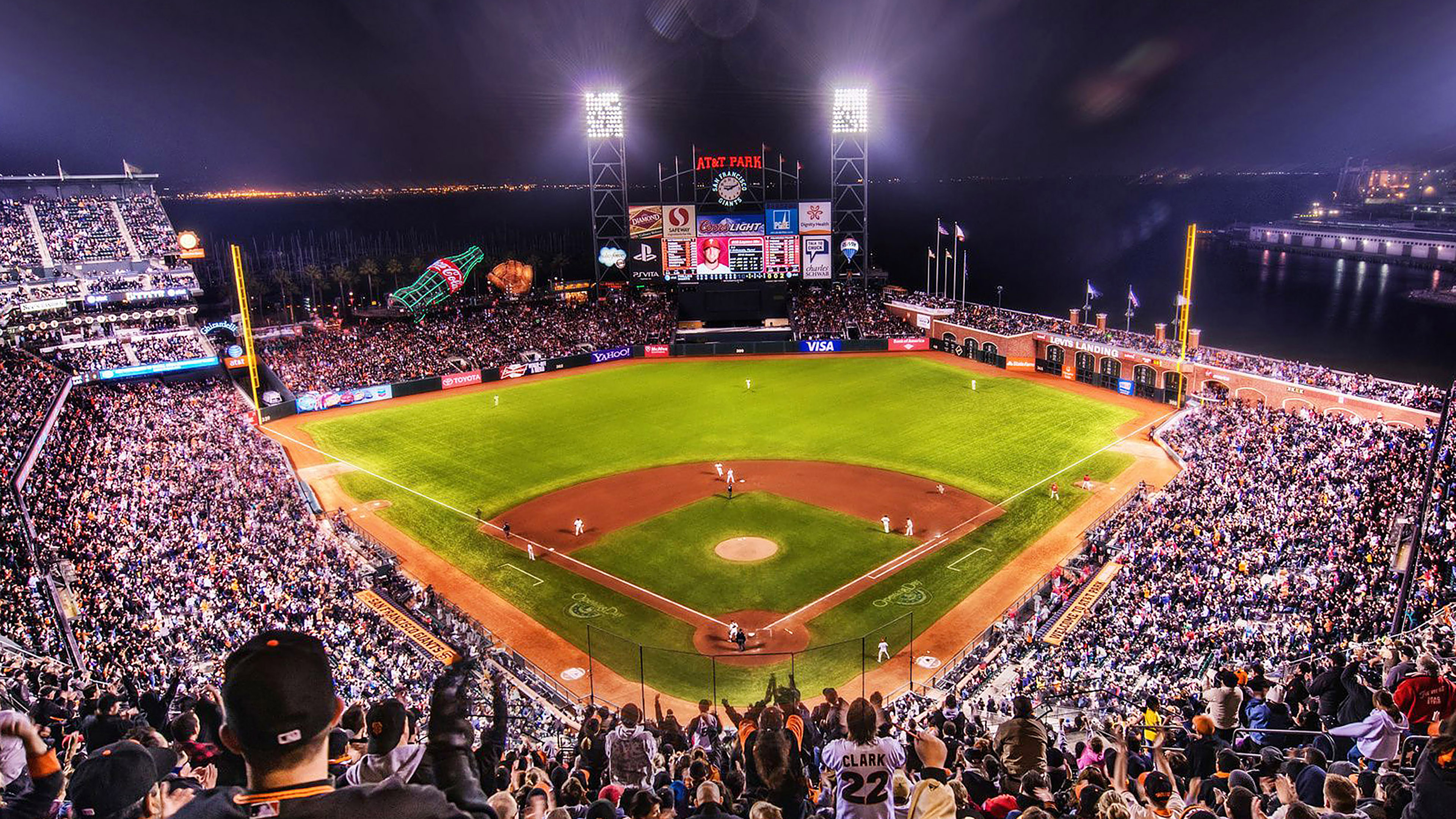 Aa57 Baseball Stadium Sports Art Papers Co