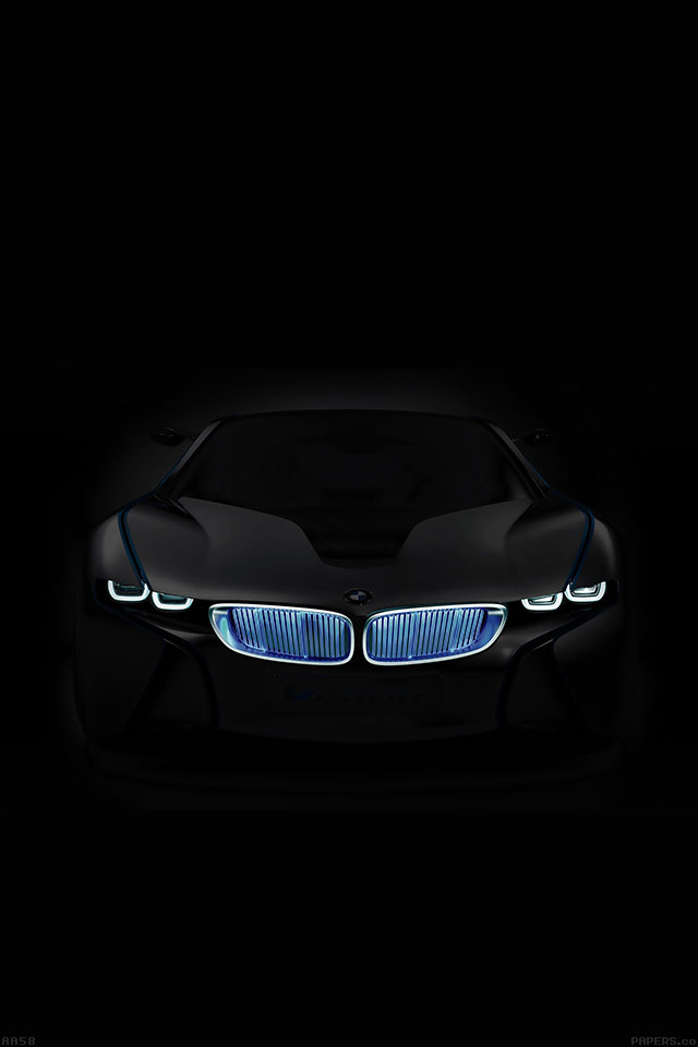 Aa58 Bmw In Dark Car Art Papers Co