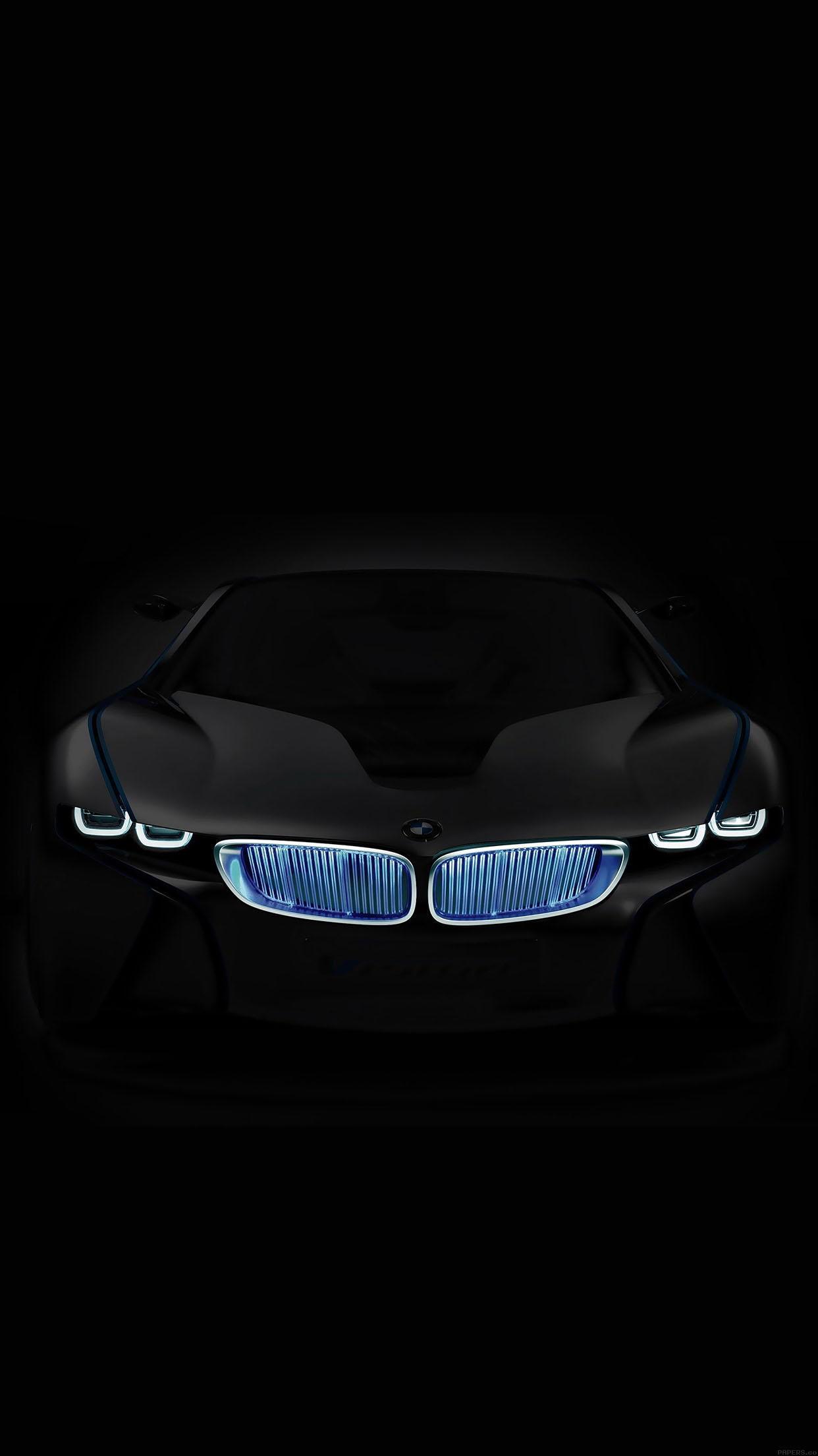 Iphone6papers Aa58 Bmw In Dark Car Art