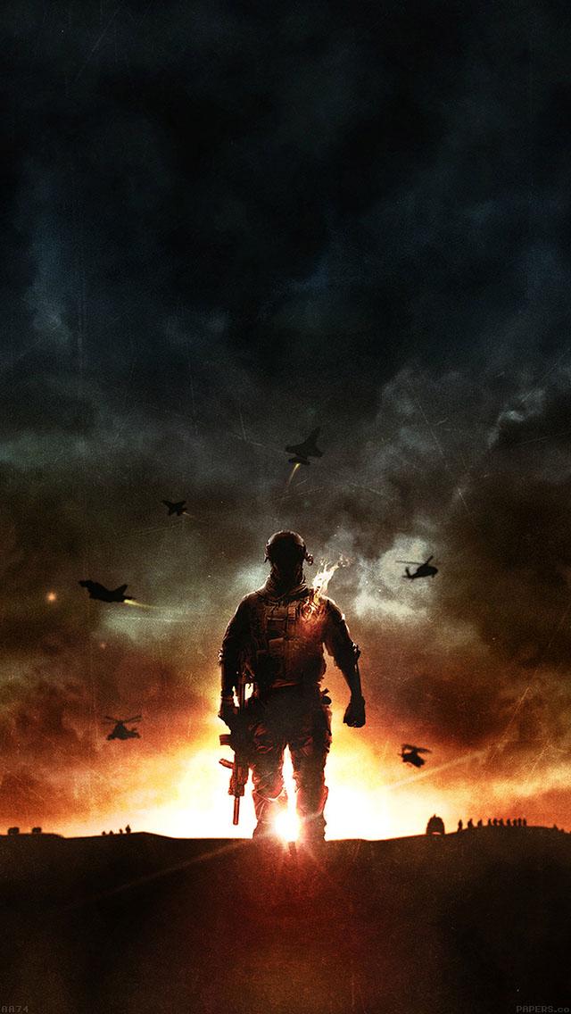 freeios8.com-iphone-4-5-6-ipad-ios8-aa74-battlefield-4-lonely-game-art