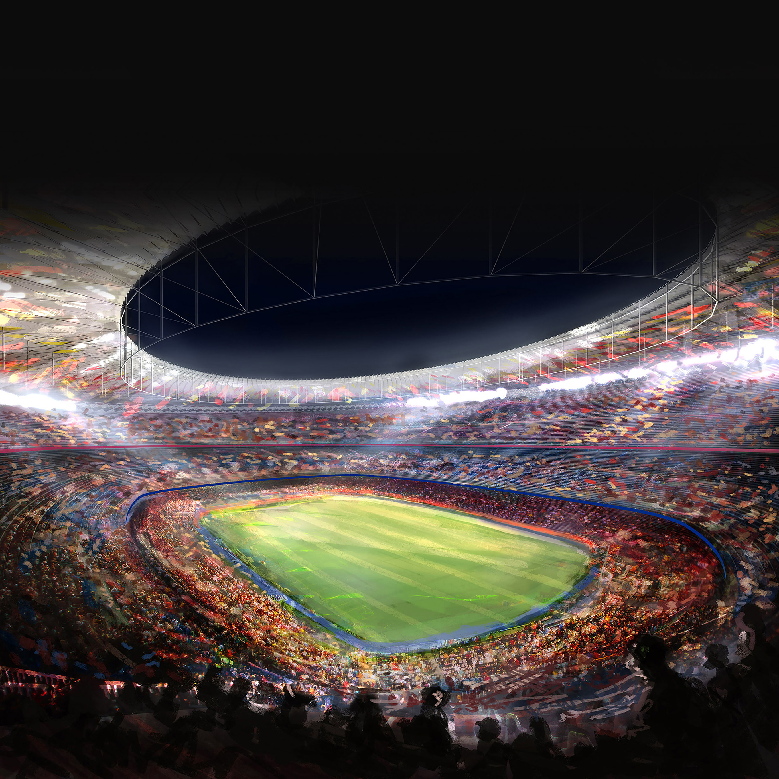 Aa82 Wallpaper Fc Barcelona Camp Nou Sports Papers