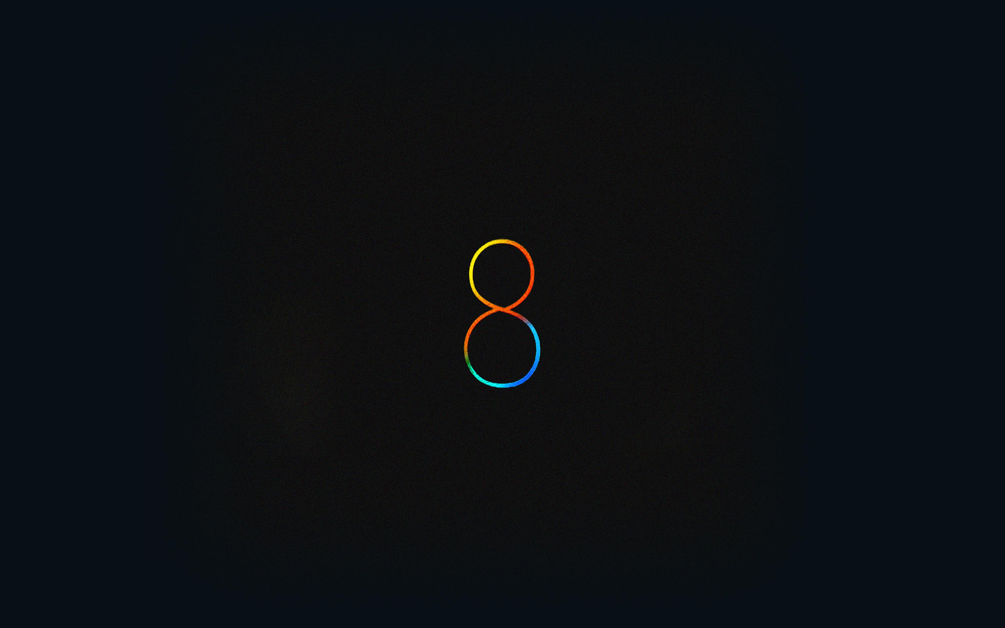 Aa88 Wallpaper Free Ios 8 Black Apple Papersco