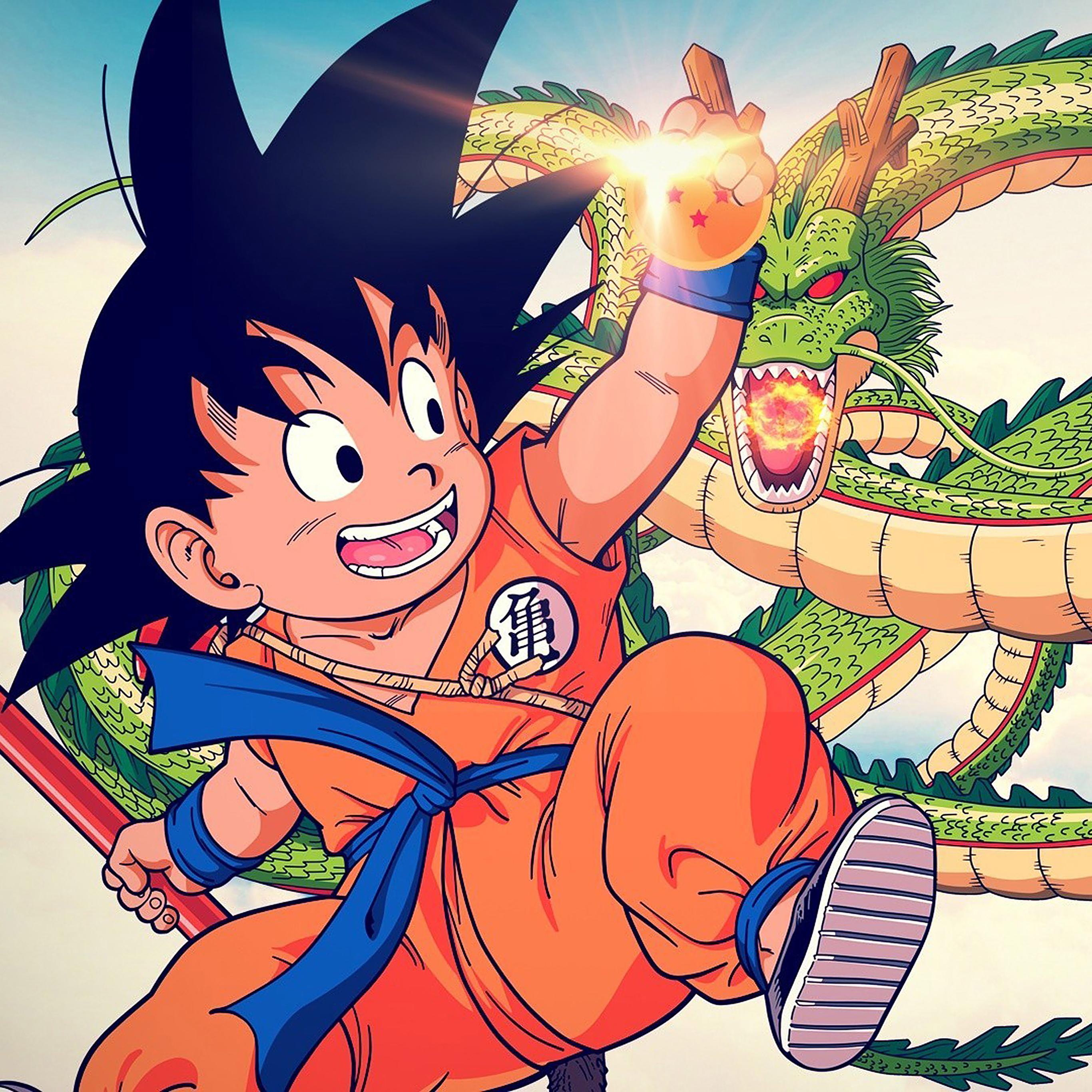 Ab04 Wallpaper Goku Kid Dragonball Illust Papers Co