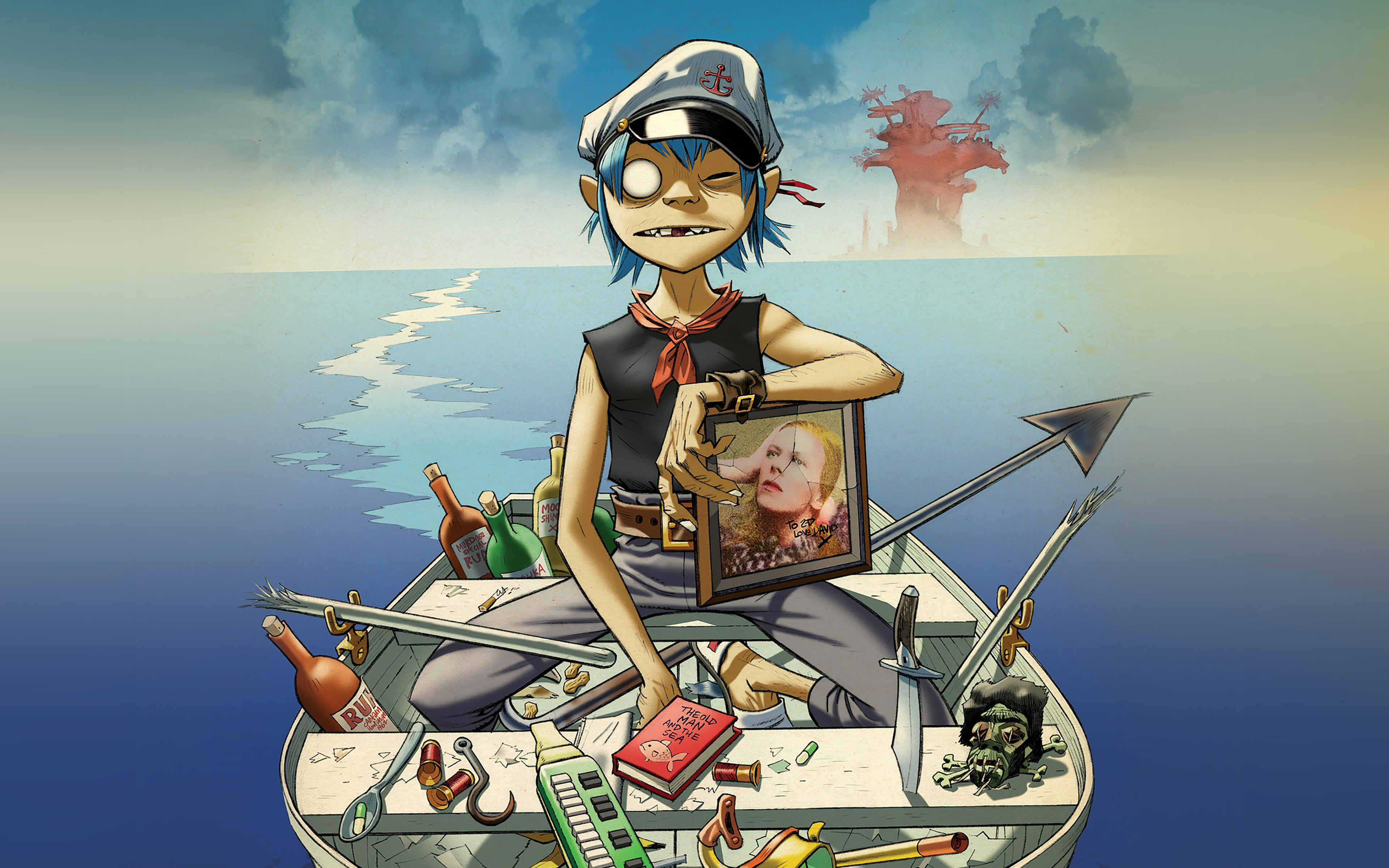 ab05-wallpaper-gorillaz-boat-illust-music - Papers.co