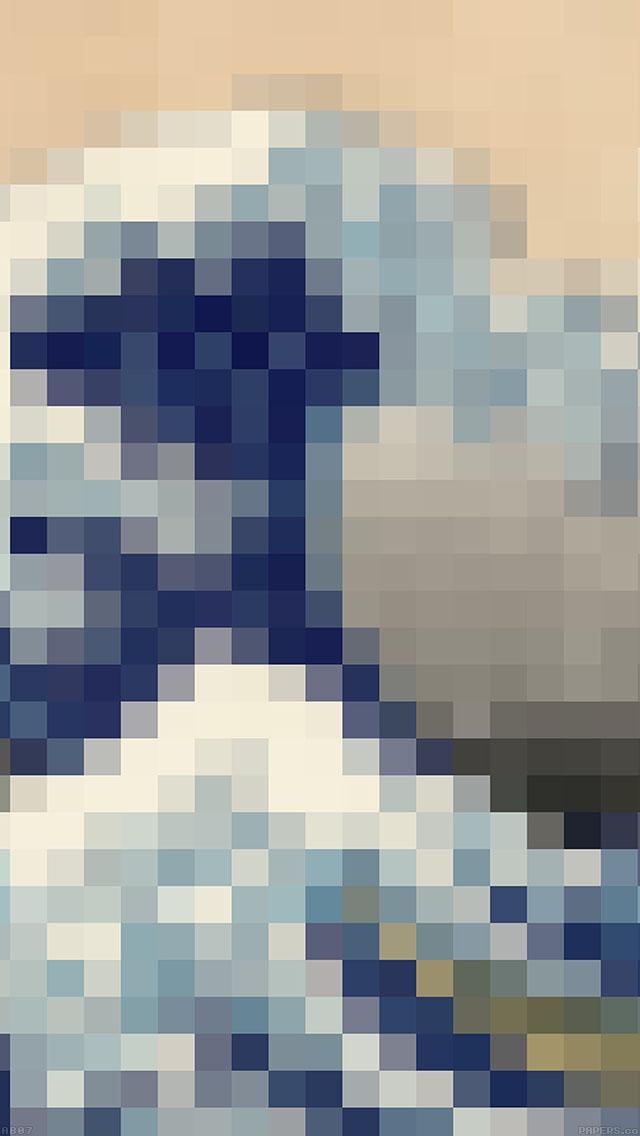 freeios8.com-iphone-4-5-6-ipad-ios8-ab07-wallpaper-great-mosaic-illust-wave