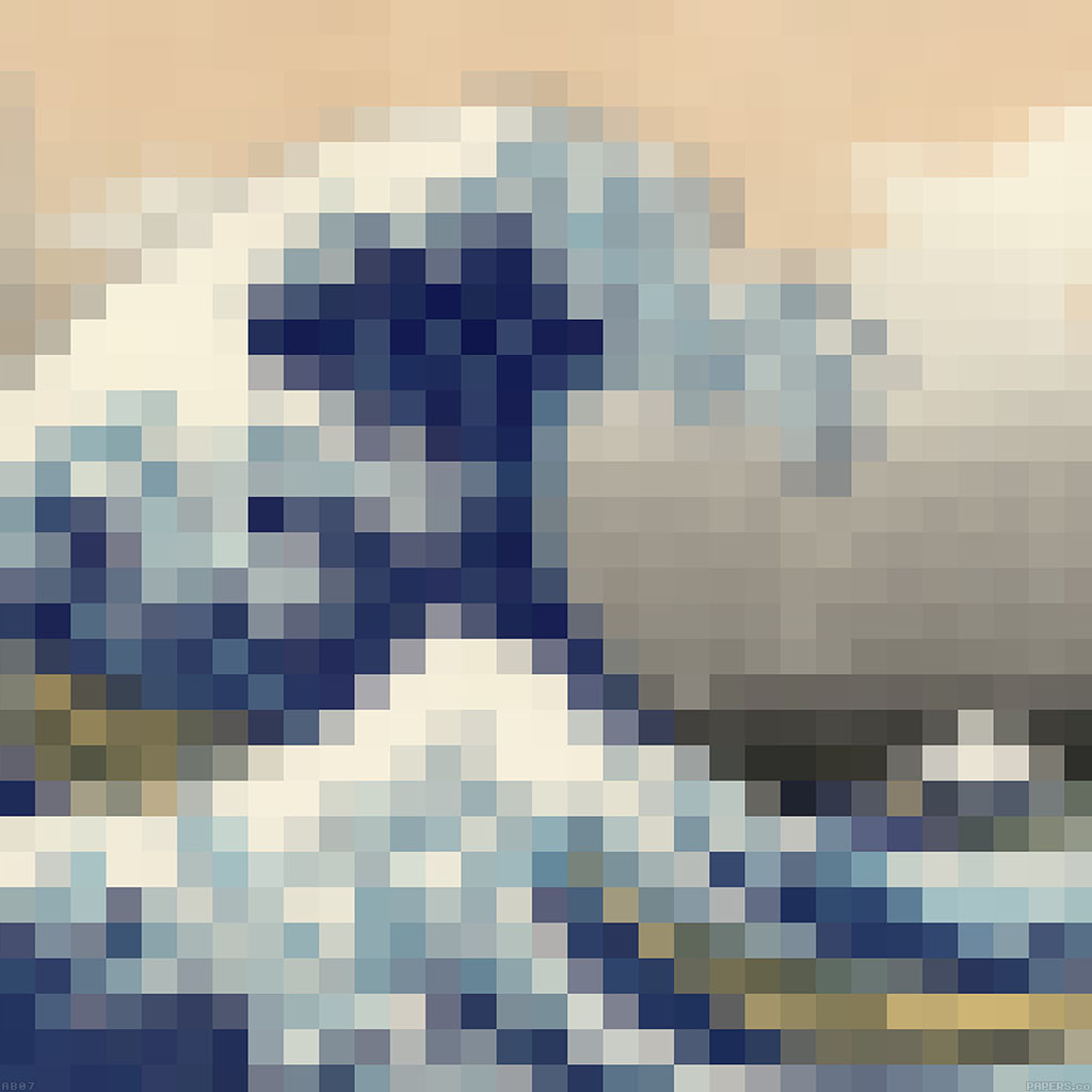 android-wallpaper-ab07-wallpaper-great-mosaic-illust-wave-wallpaper