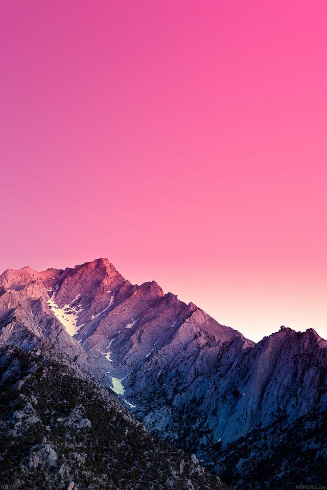 Freeios7 Ab13 Wallpaper Mountain High Parallax Hd Iphone Ipad