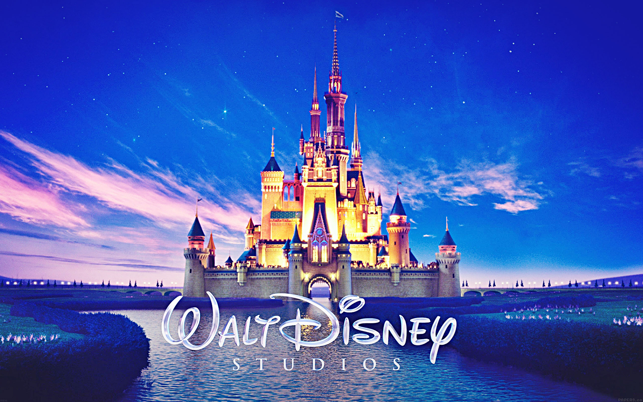 Ab16 Wallpaper Walt Disney Studios Castle Illust Papers Co
