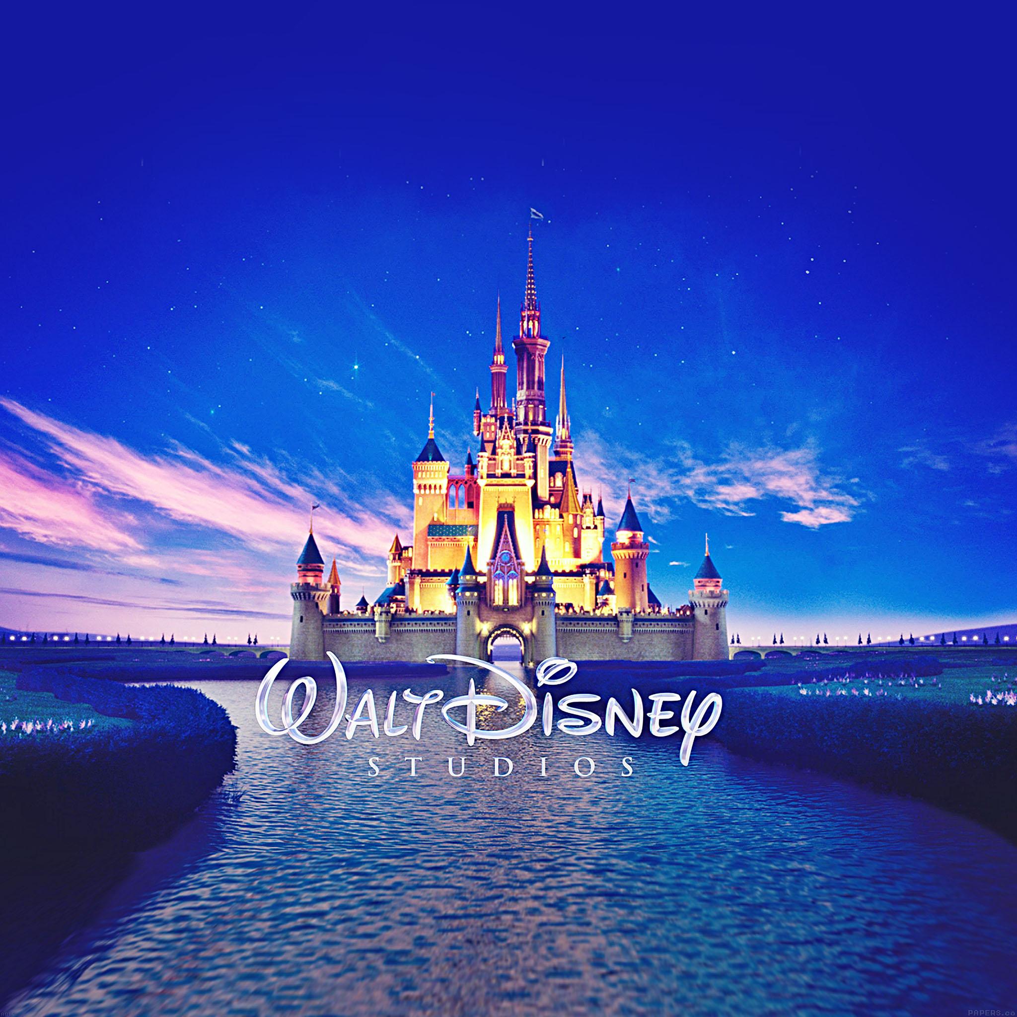 Freeios7 Ab16 Wallpaper Walt Disney Studios Castle Illust