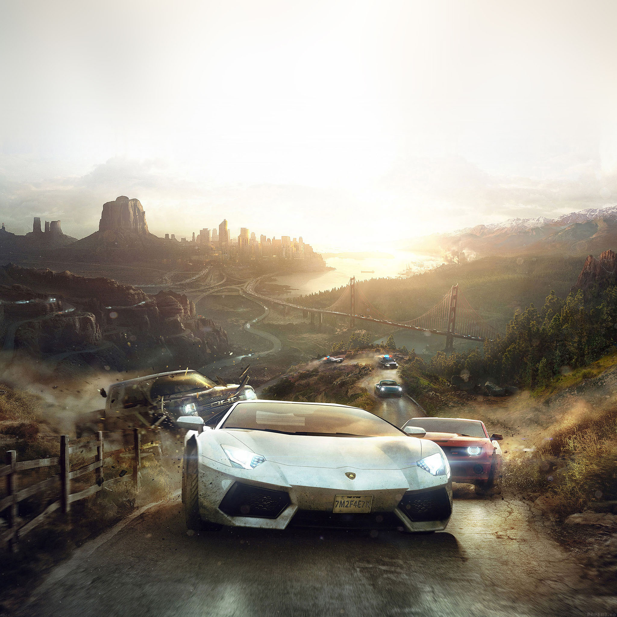 Ab24 Wallpaper The Crew Race Car Game Papers Co