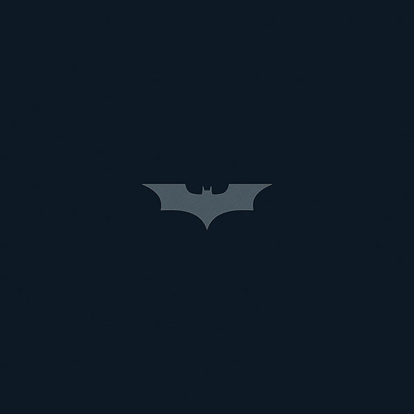 Ab25 Wallpaper The Dark Knight Navy Batman Hero Papers Co