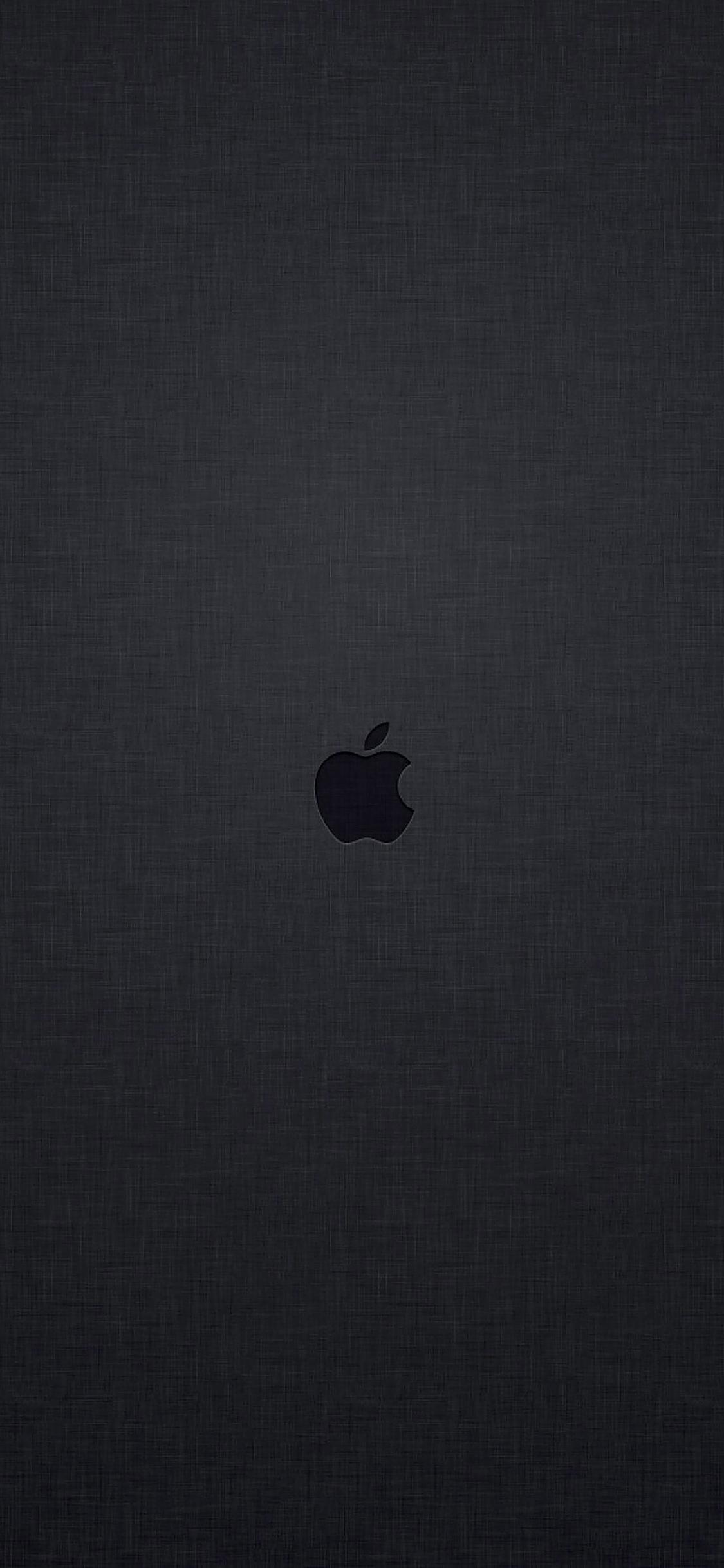 Ab28 Wallpaper Tiny Apple Logo Dark Wallpaper