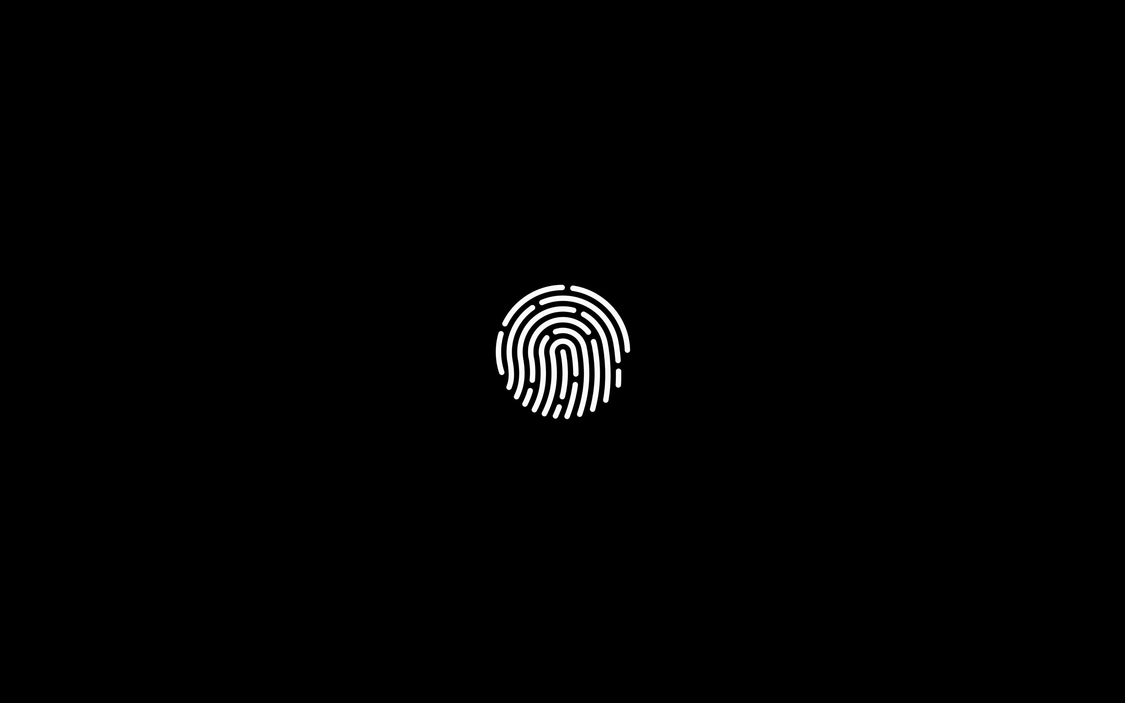 Ab30 Wallpaper Touch Id Noir Apple Papers Co