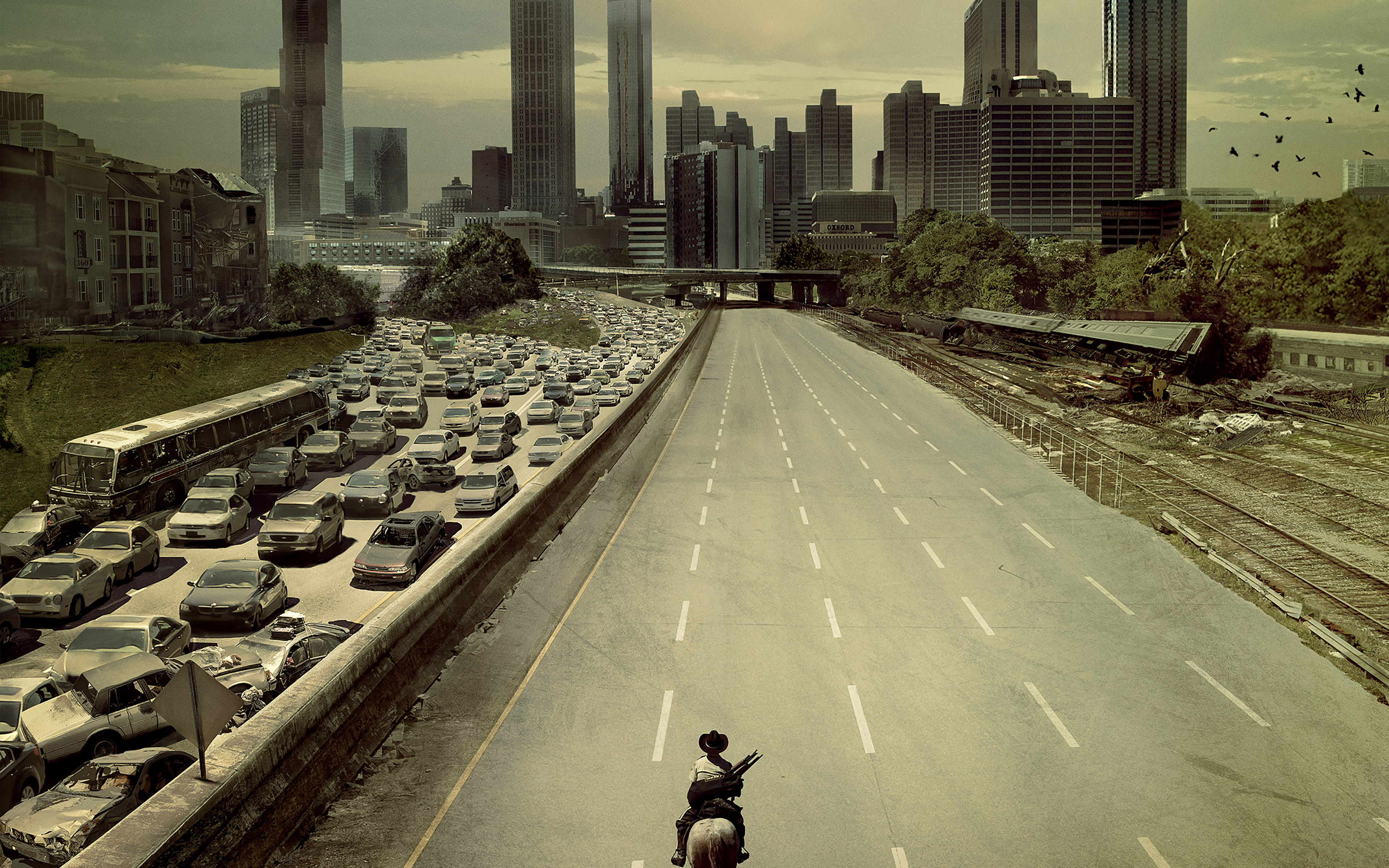 Desktoppapers Co Ab34 Wallpaper Walking Dead City Film