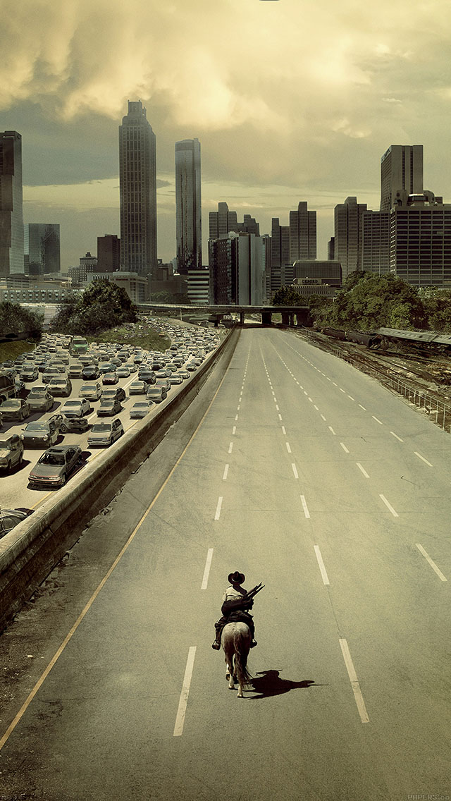 freeios8.com-iphone-4-5-6-ipad-ios8-ab34-wallpaper-walking-dead-city-film