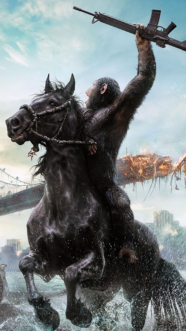 freeios8.com-iphone-4-5-6-ipad-ios8-ab40-wallpaper-planet-of-apes-film-illust