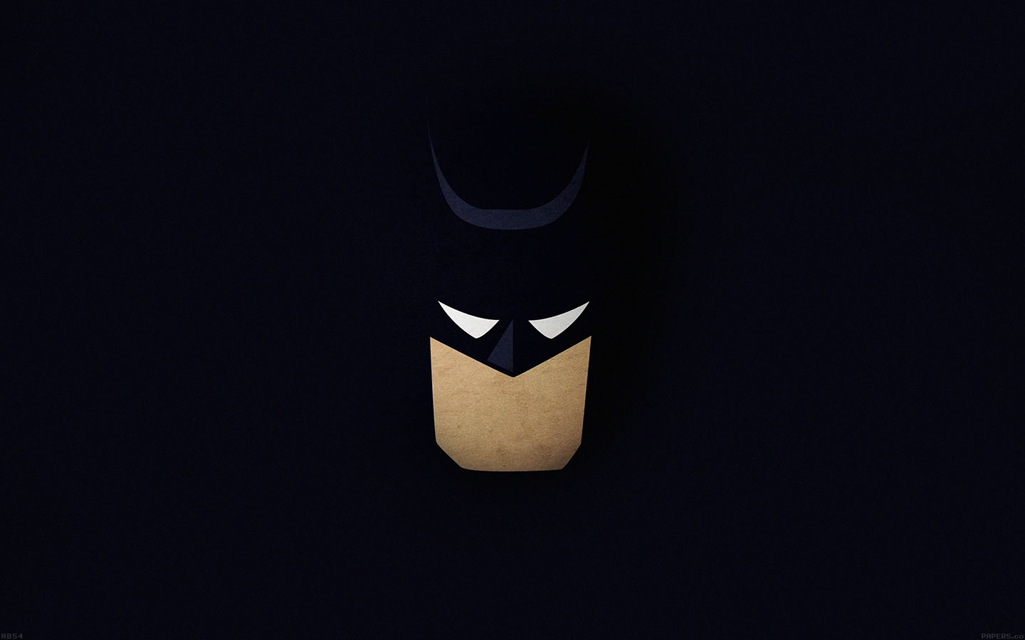 ab54-wallpaper-batman-face-dark-minimal - Papers.co