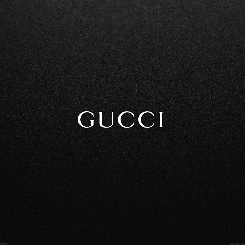 ab58-wallpaper-gucci-black-logo - Papers.co