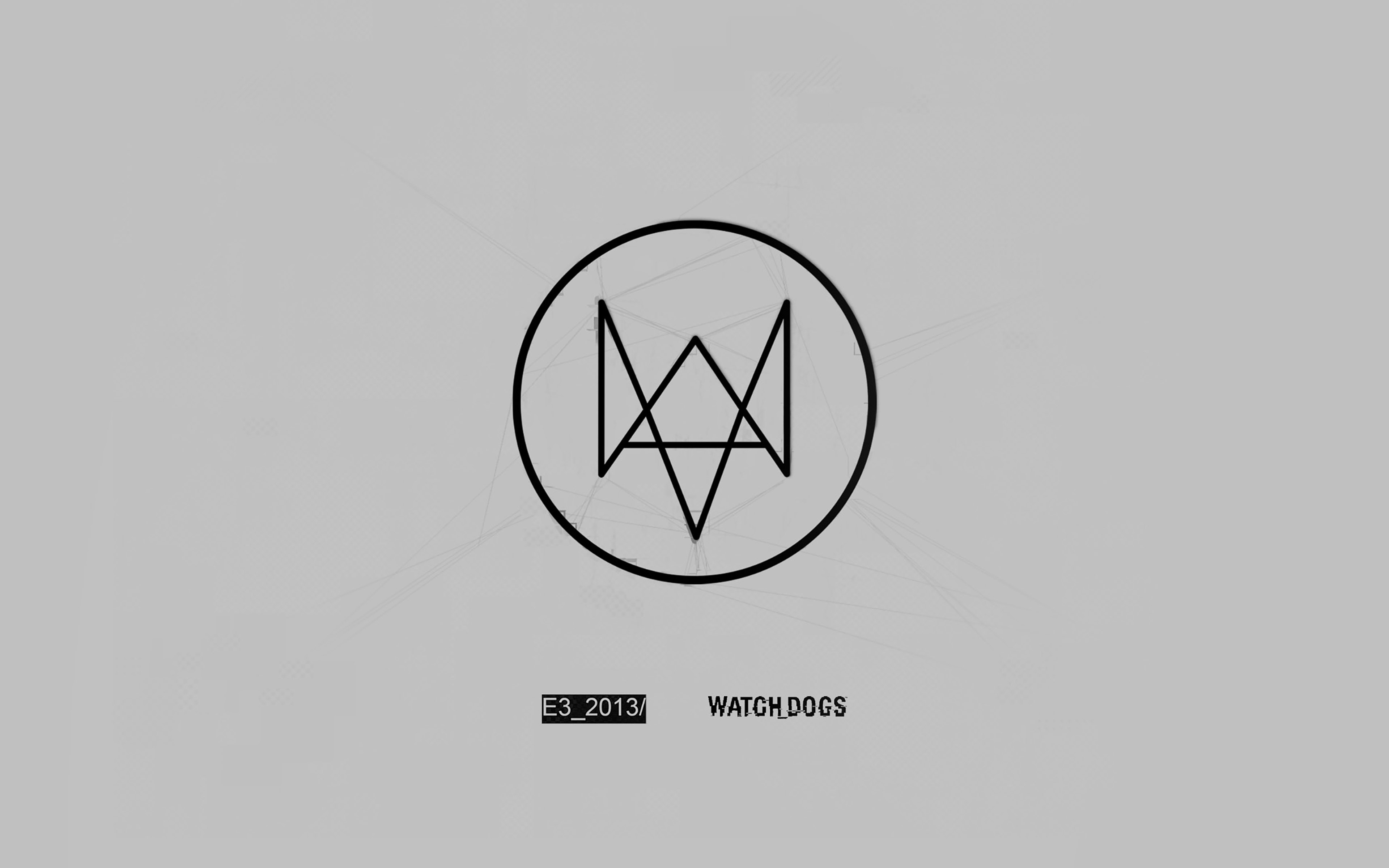 Ab63 Wallpaper Watchdog Gray Logo Game Papersco