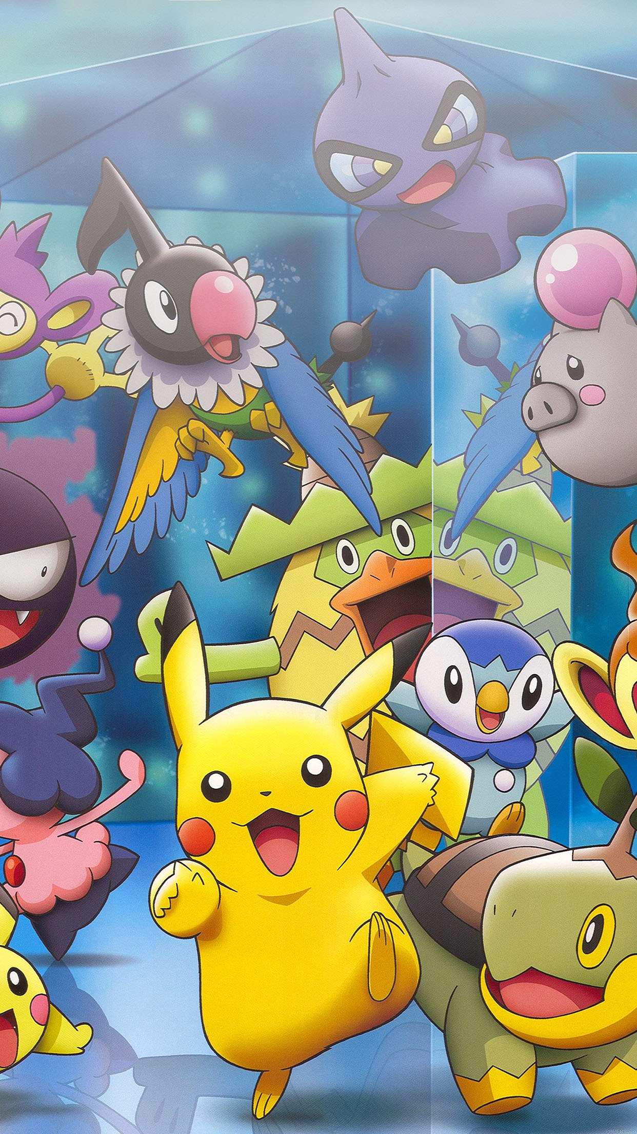 Iphone6papers Ab66 Wallpaper Pokemon Friends Anime