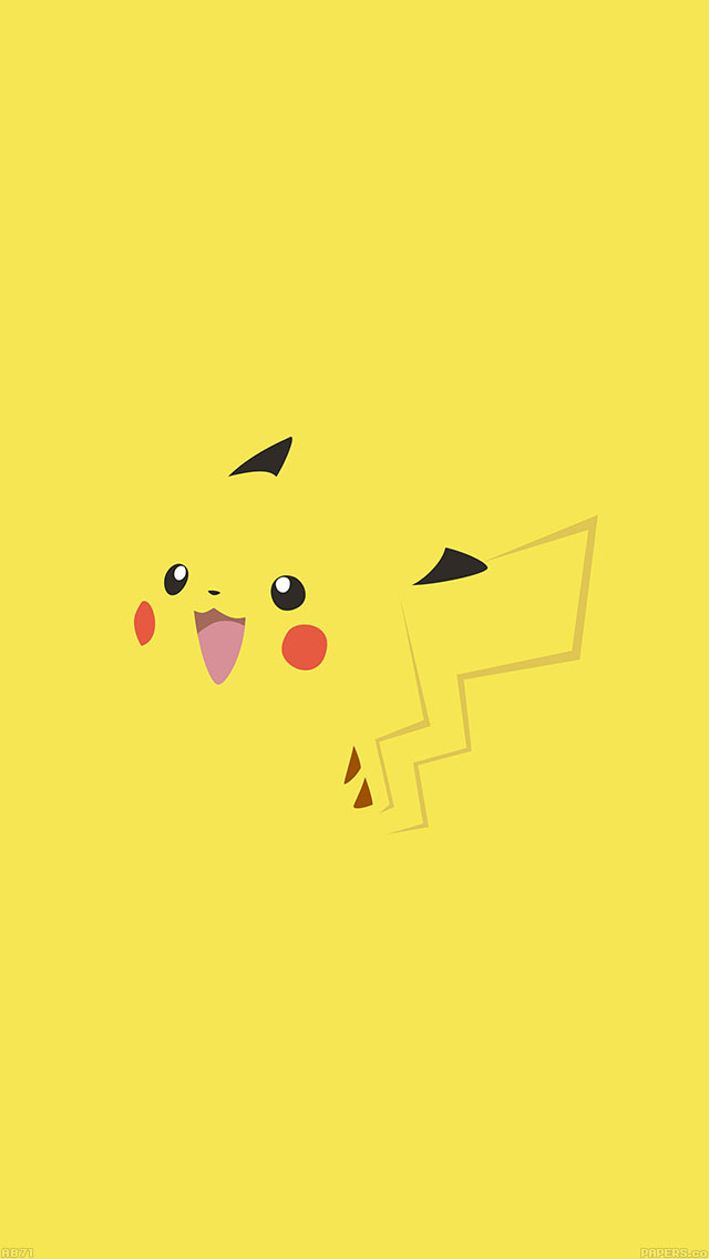 freeios8.com-iphone-4-5-6-ipad-ios8-ab71-wallpaper-pikachu-yellow-anime